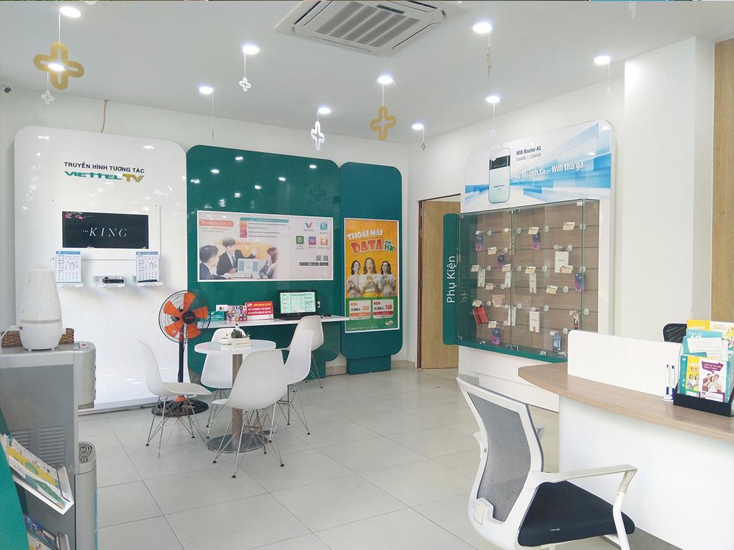 văn phòng và cửa hàng Viettel Bà Rịa Vũng Tàu