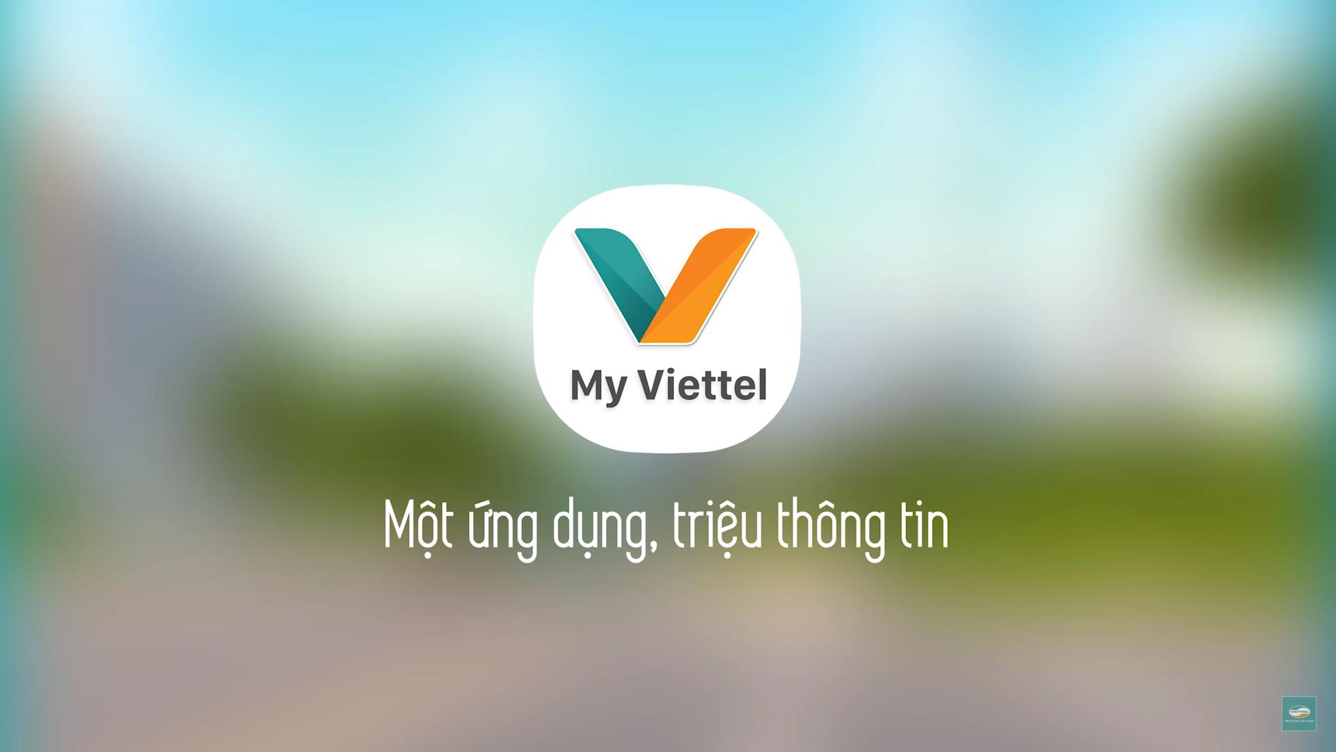 ứng dụng My Viettel