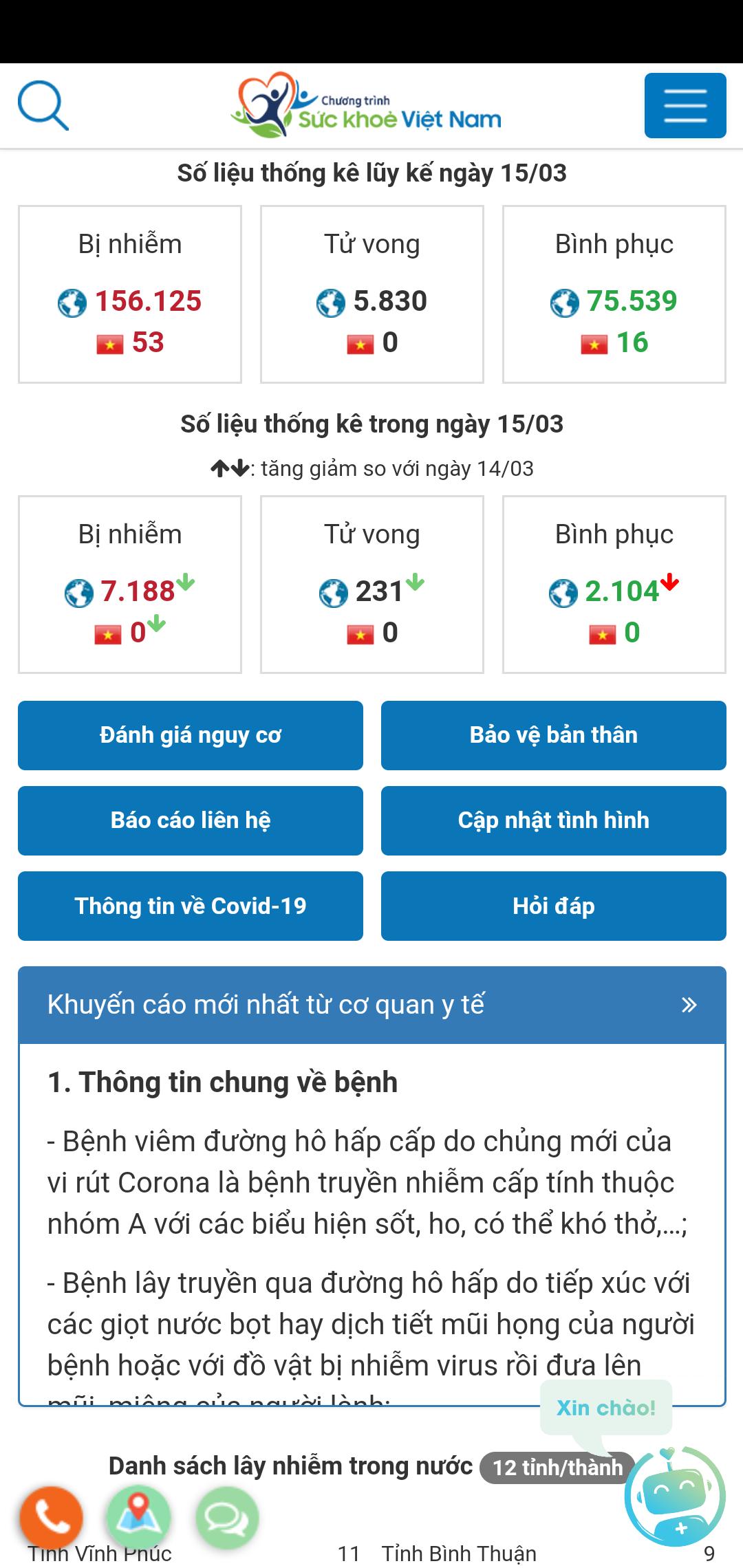 ứng dụng sức khỏe Việt Nam